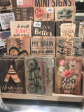 Wood Signs That Will Add Rustic Charm To Your Home Decor