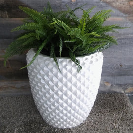 "DIAMOND PLANTER (16"") - www.zenbetterliving.com"
