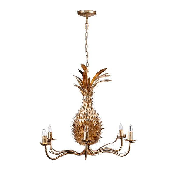 STRIKING PINEAPPLE CHANDELIER