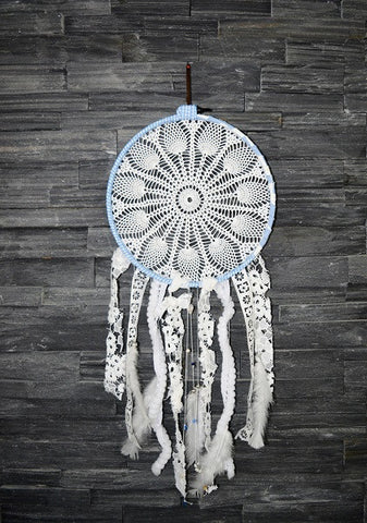 ANGEL FEATHERS DREAMCATCHER