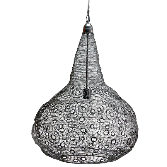 WIRE CRAFTED PENDANT LAMP - www.zenbetterliving.com