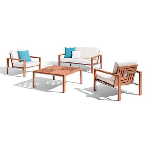 MODERN SQUARE OUTDOOR SET