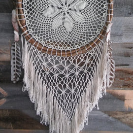 WHITEWIDOW DREAMCATCHER - www.zenbetterliving.com