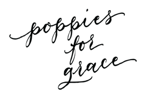 Poppies for Grace LOGO