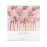 Pink Tutu and Pom Pom Cake Toppers - Talking Tables - 4