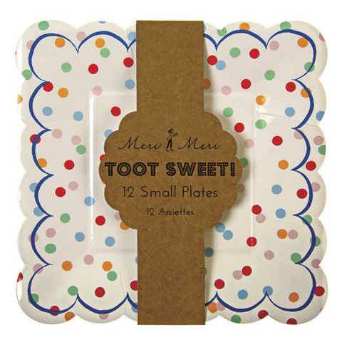 Toot Sweet Spotty Small Plates - Meri Meri