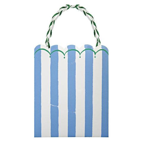 Toot Sweet Blue Stripe Party Bags - Meri Meri