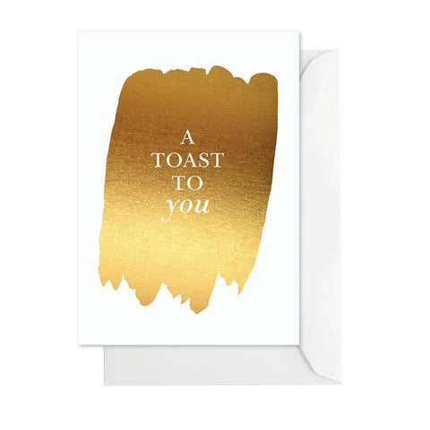 A Toast to You Greeting Card - Lemonade Occasions