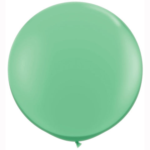 "36"" Big and Round Mint Balloon - Lemonade Occasions"