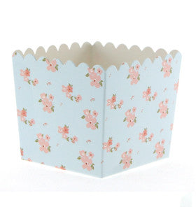 Blue Floral Treat Box - Lemonade Occasions