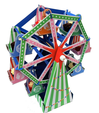 Cupcake Ferris Wheel Table Centrepiece - Lemonade Occasions