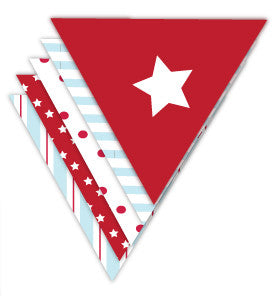 Classic Star Party Bunting - Lemonade Occasions