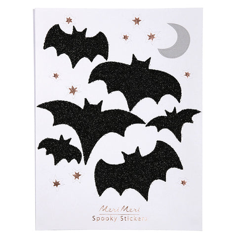 Glittery Bat Stickers