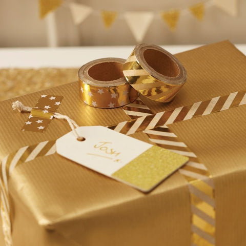 Gold Foiled Washi Tape - Lemonade Occasions