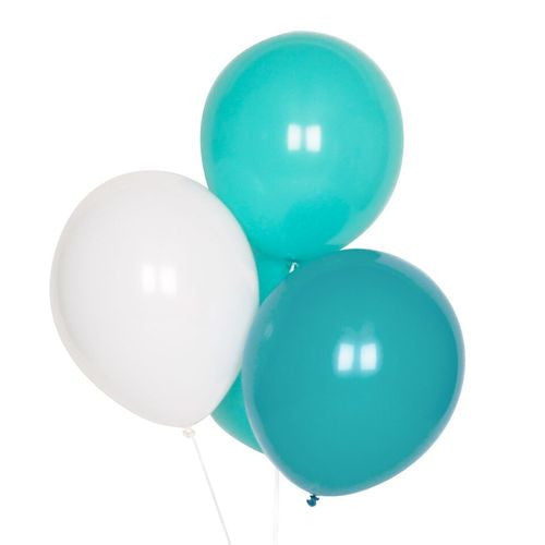 Teal Balloon Party Mix - Lemonade Occasions