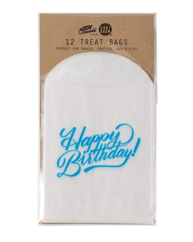 Happy Birthday Glassine Treat Bags - Lemonade Occasions