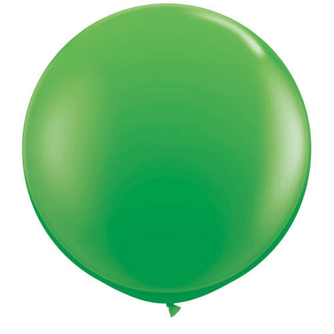 "36"" Big and Round Spring Green Balloon - Lemonade Occasions"