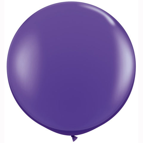 "36"" Big and Round Purple Balloon - Lemonade Occasions"