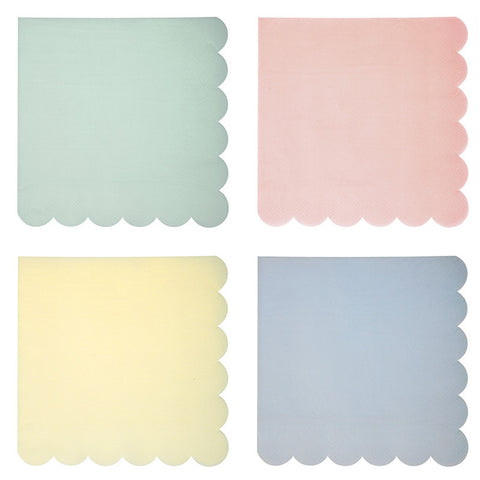 Large Pastel Napkins - Lemonade Occasions