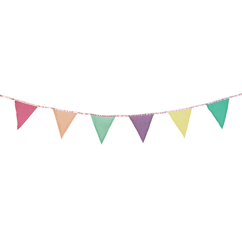 Malibu Fabric Bunting - Lemonade Occasions