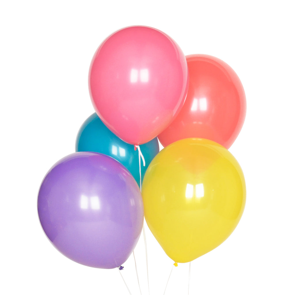 Multicolour Balloon Party Mix - Lemonade Occasions