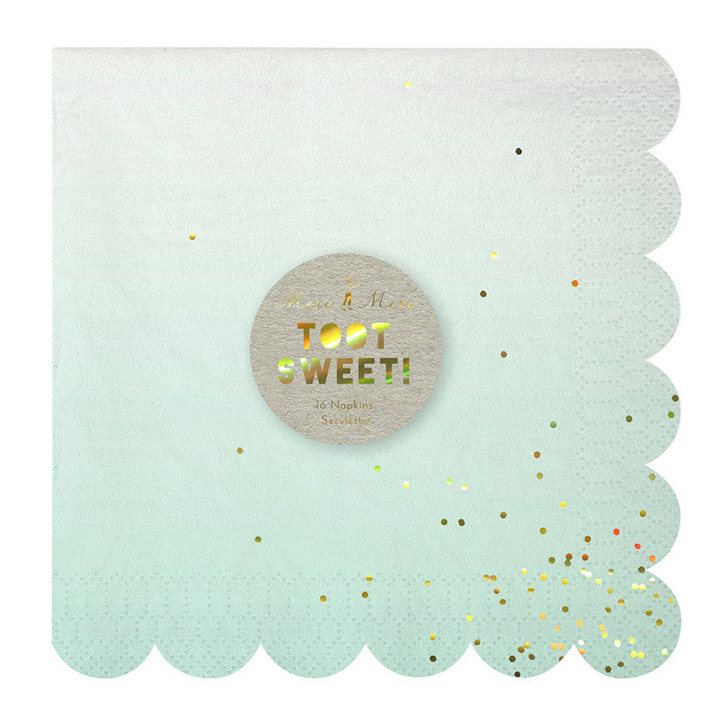Ombre Large Paper Napkin - Lemonade Occasions