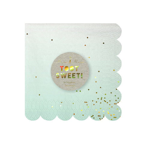 Ombre Small Paper Napkin - Lemonade Occasions