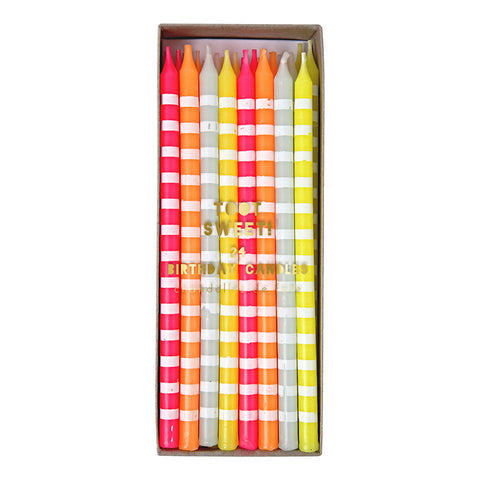 Pastel Tall Cake Candles - Lemonade Occasions