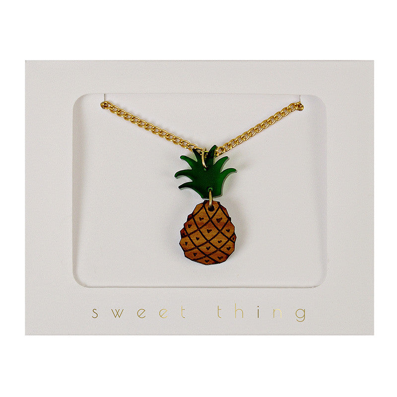 Pineapple Necklace - Lemonade Occasions