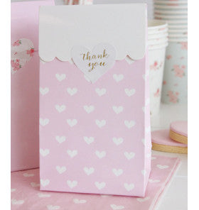 Pink Sweetheart Gloss Mini Party Bag - Lemonade Occasions