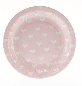 Pink Sweetheart Small Plate - Lemonade Occasions