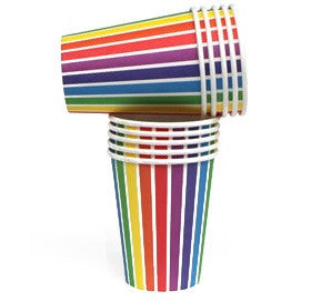 Rainbow Party Cups - Lemonade Occasions