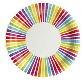 Rainbow Plate - Lemonade Occasions