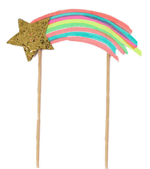 Shooting Star Cake Topper - Lemonade Occasions