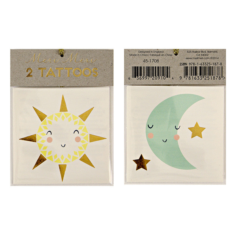 Sun and Moon Tattoos - Lemonade Occasions
