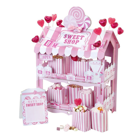 Sweet Shop Pink Treat Stand - Lemonade Occasions
