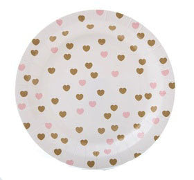 Sweetheart Paper Plates - Lemonade Occasions