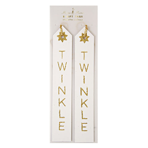 Twinkle Twinkle Gift Tags - Lemonade Occasions