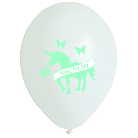 Unicorn Printed Balloons - Lemonade Occasions