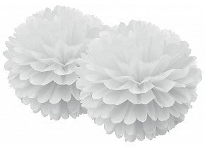 White Pom Pom Set - Lemonade Occasions