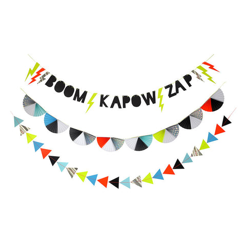 Zap! Party Garland - Lemonade Occasions