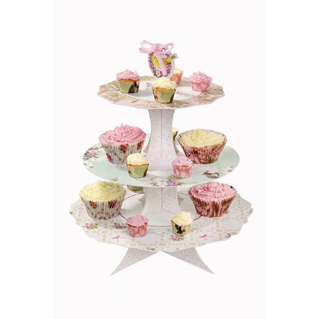 Frills and Frosting 3 Tier Cake Stand - Lemonade Occasions
