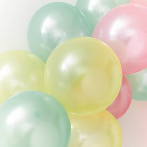 We Heart Pastel Balloons