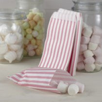 Pastel Pink Paper Treat Bags - Ginger Ray