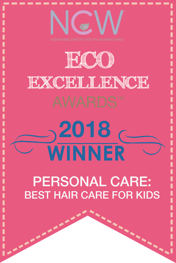 Baja Baby Wins 2018 Eco-Excellence Award Best Kids Hair Care!