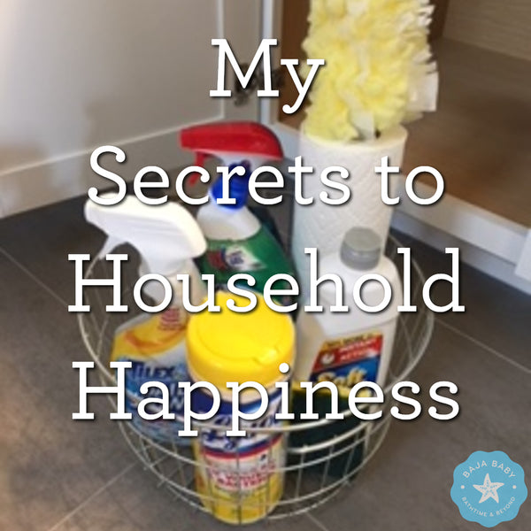 4 Secrets to Household Chores Happiness