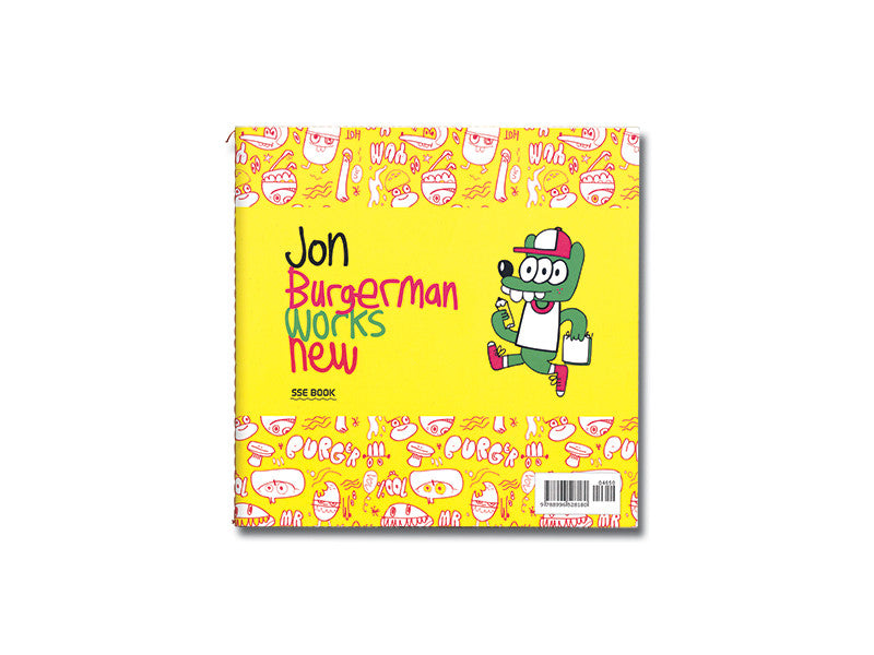 Jon Burgerman Works New