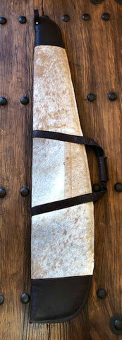Cowhide Rifle Case - Tan