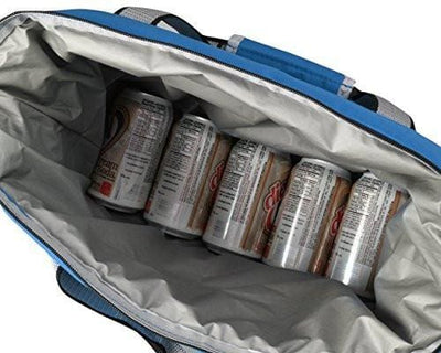 Heavy-Duty Soft Sided Collapsible Cooler Bag -Holds 16 Cans -Lightweight Thermal Cooler - Allendales