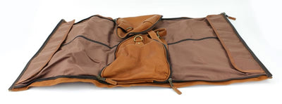 Large Leather Duffel Suit Bag For Business Man Travel - Bayfield Bags